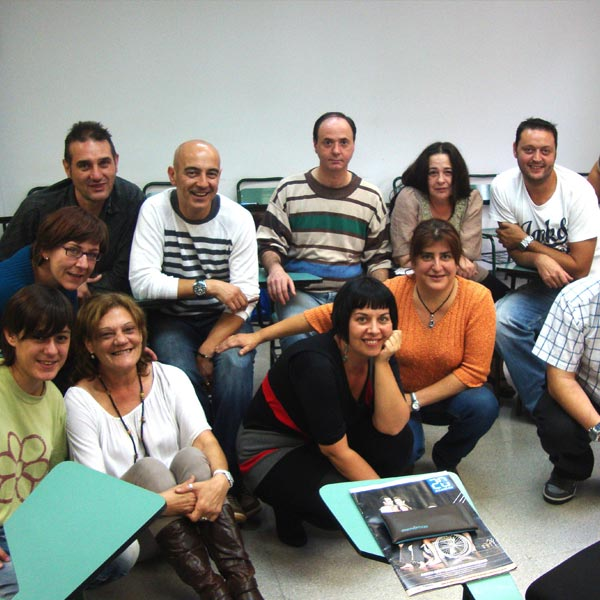 Grupo de trabajo, itinerario de empleo, curso El puente hacia el empleo, FSC-barcelona